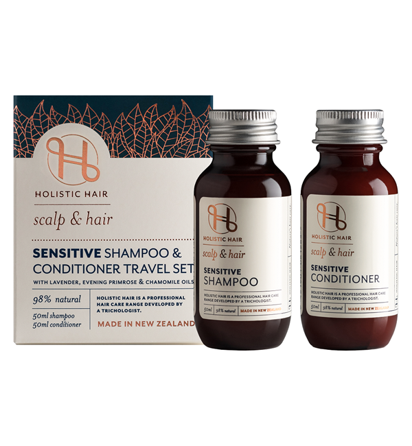 Sensitive Shampoo & Conditioner Travel Set